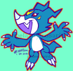 Digimon Veemon Commission